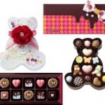 バレンタインチョコレートは、キュートから多種多彩!