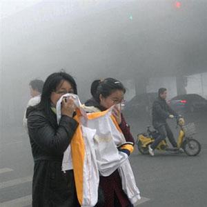 PM2.5中国のスモッグ