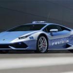 ランボルギーニ最新車をイタリア警察に提供、時速100Kmを3.2秒加速