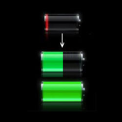 iPhoneの画面が真っ暗で電源が入らない